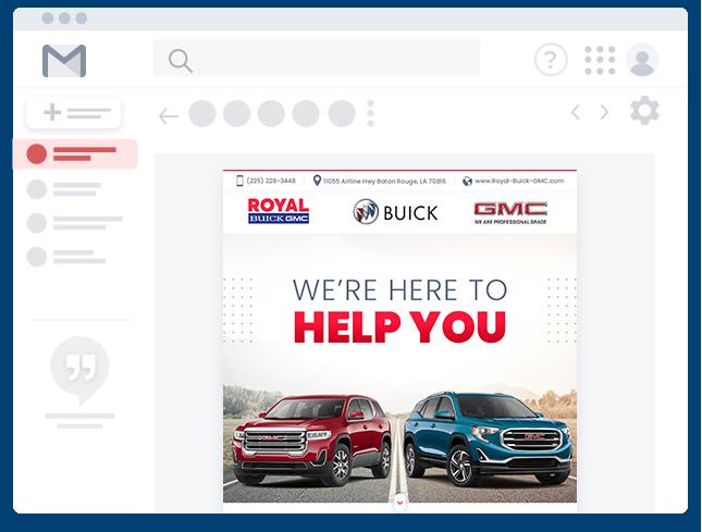 automotive email
